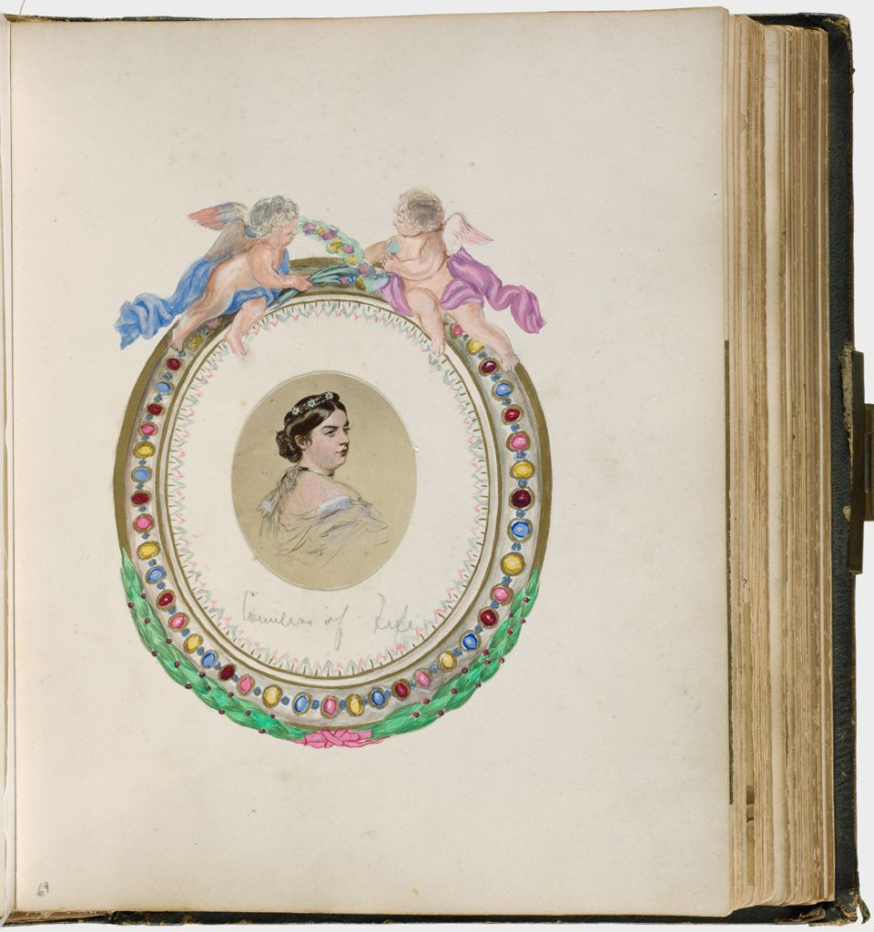 Untitled (Countess Of Fife [From A Reproduction])