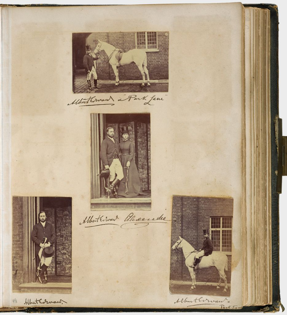 Untitled (Four Photographs, Albert Edward And Alexandra,