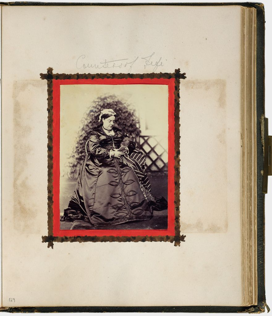 Untitled (Countess Of Fife, Seated, Holding Dog. Verso; H.r.h. Princess Louise Of Lorne)