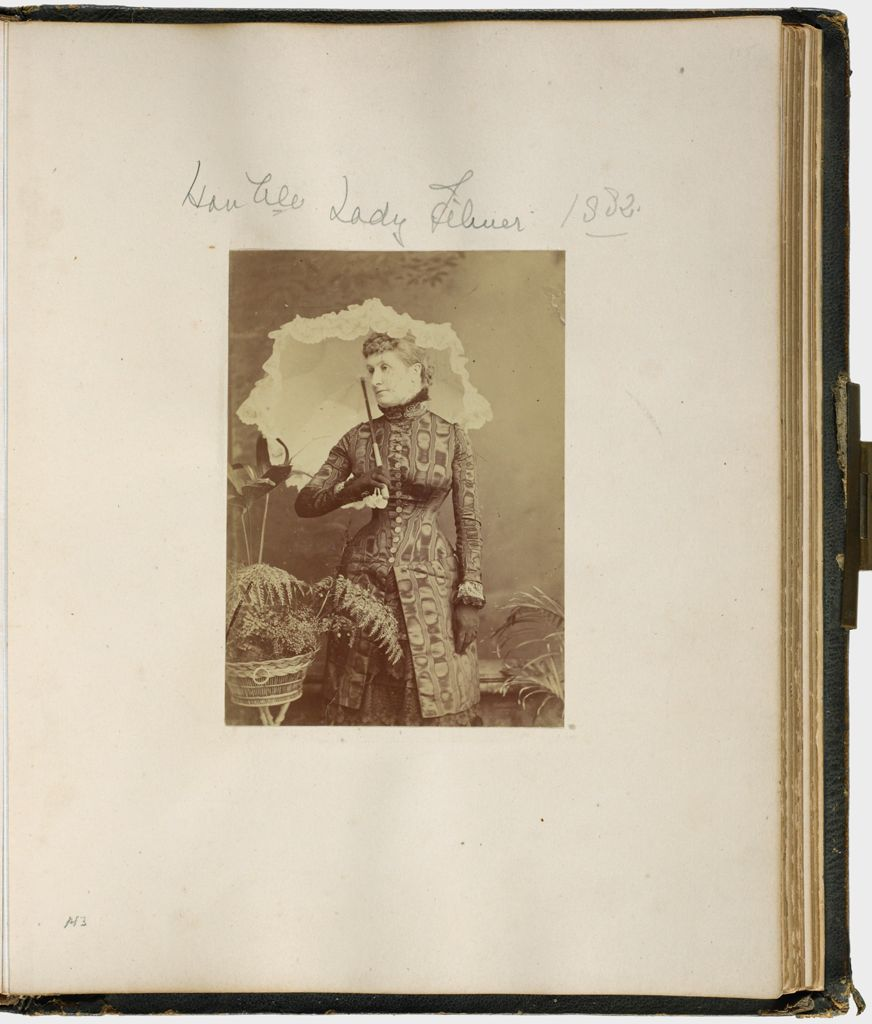 Untitled (Honorable Lady Filmer, 1882; Verso: Lord Sandys)