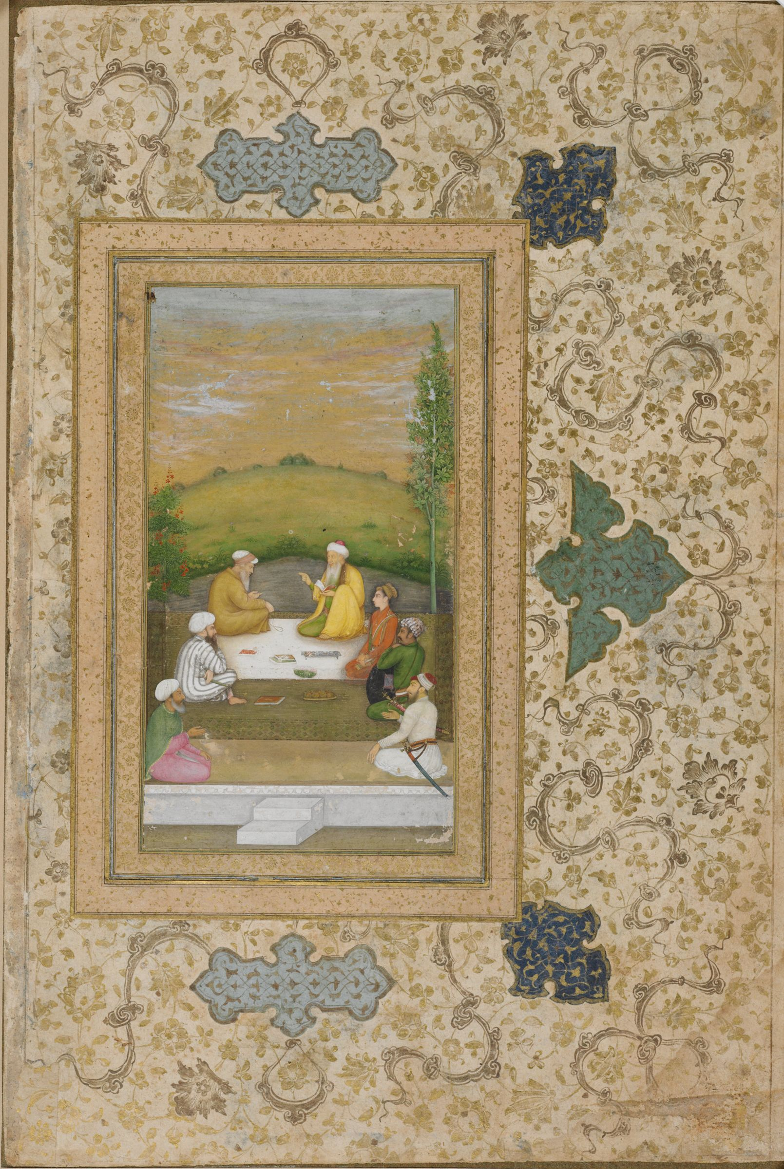 Dara Shikoh With Sages