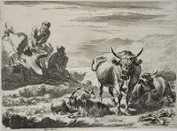 Herdsmen Having A Meal