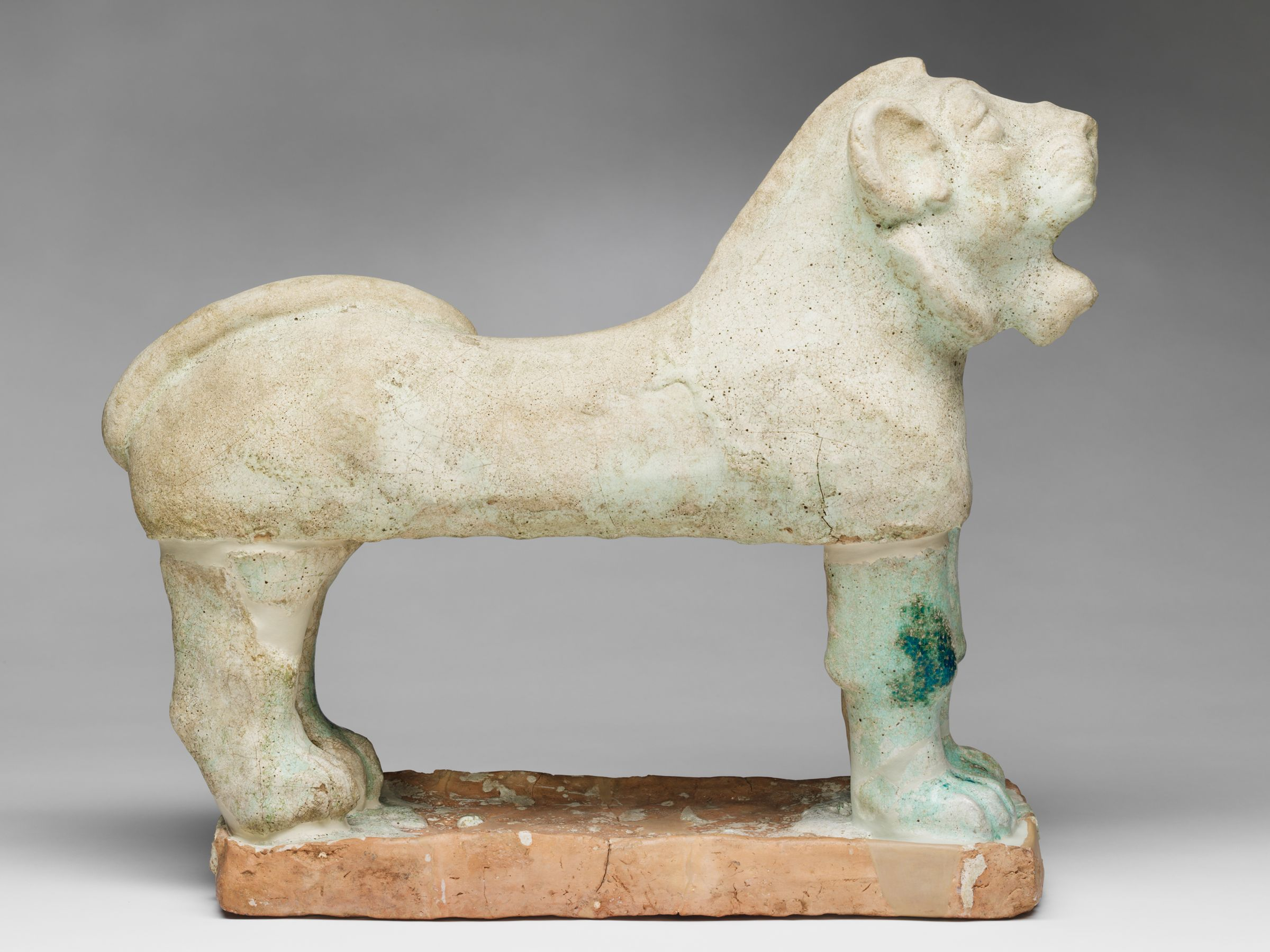 One Of Two Lions From The Temple Of Ishtar, Nuzi