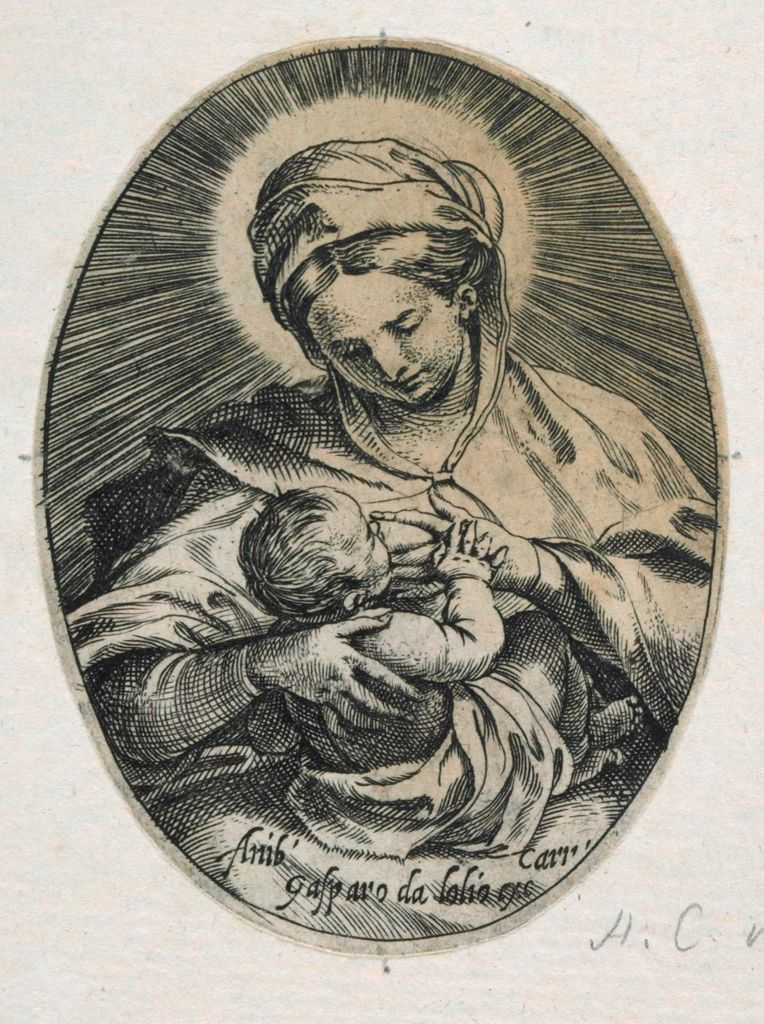 The Virgin Suckling The Christ Child