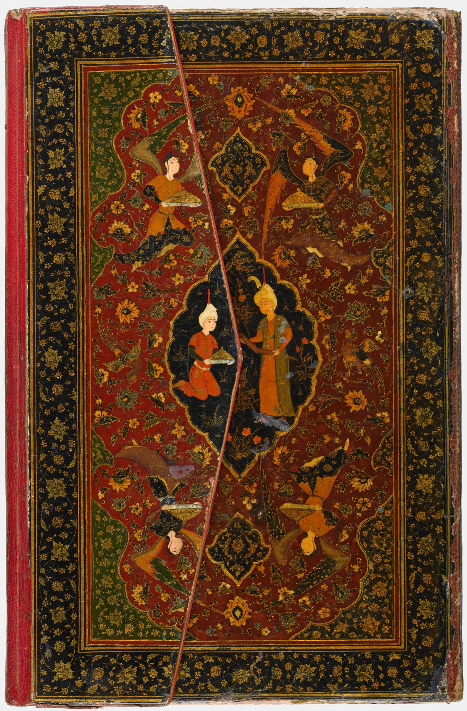 Illustrated Manuscript Of A Divan Of Hafiz