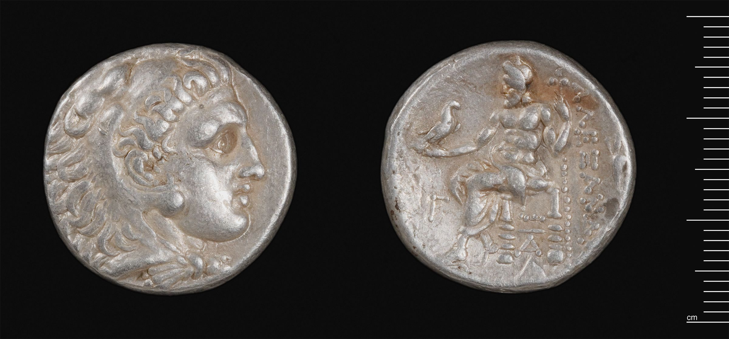 Tetradrachm Of Alexander The Great, Sardis