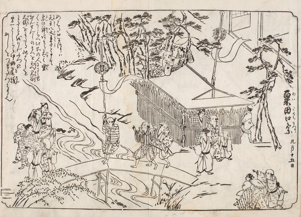 Illustrated Views Of Kyoto (Karaku Saiken Zu)