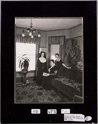 Untitled (Nun With Two Women, Manchester, New Hampshire)