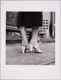 Untitled (Close-Up Of Woman's High-Heeled Shoes)
