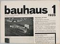 Bauhaus, No. 1