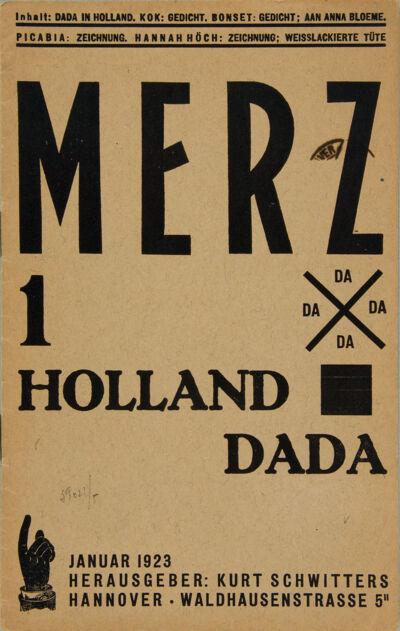 Merz 1. Holland Dada