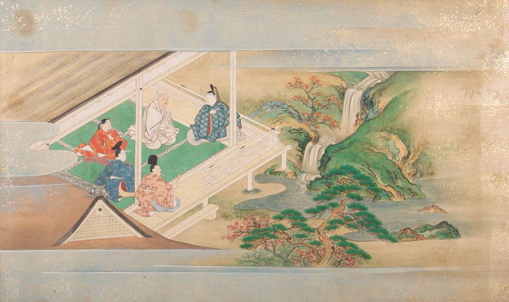 Illustrated Tales Of Ise (Ise Monogatari Emaki), 2Nd Of 2 Volumes