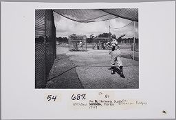 Untitled (Brooklyn Dodgers, Vero Beach, Florida)