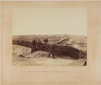 Fortifications On Heights Of Centreville, Virginia
