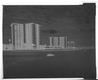 Untitled (Apartment Buildings Next To Beach)