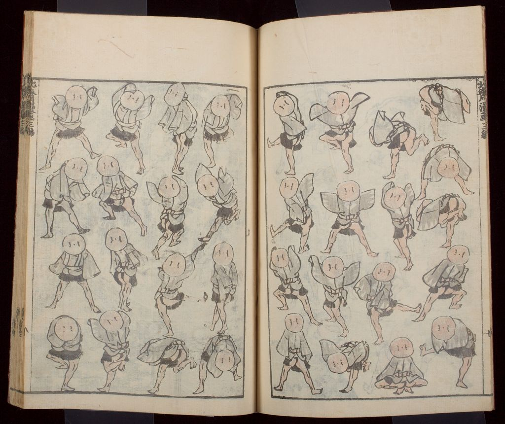 Hokusai Manga (Hokusai Sketchbooks), Vol. 3