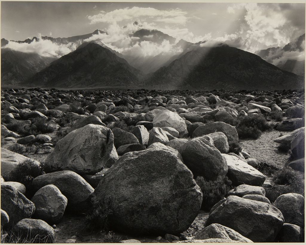 Mt. Williamson, The Sierra Nevada, From Manzanar, California