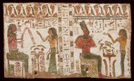 Painted Panel from Wooden Sarcophagus