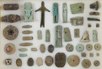 Collection Of Beads And Amulets