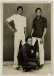 Untitled (studio portrait, three young men)