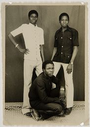 Untitled (Studio Portrait, Three Young Men)