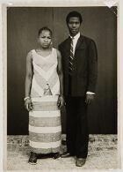 Untitled (studio portrait, couple)