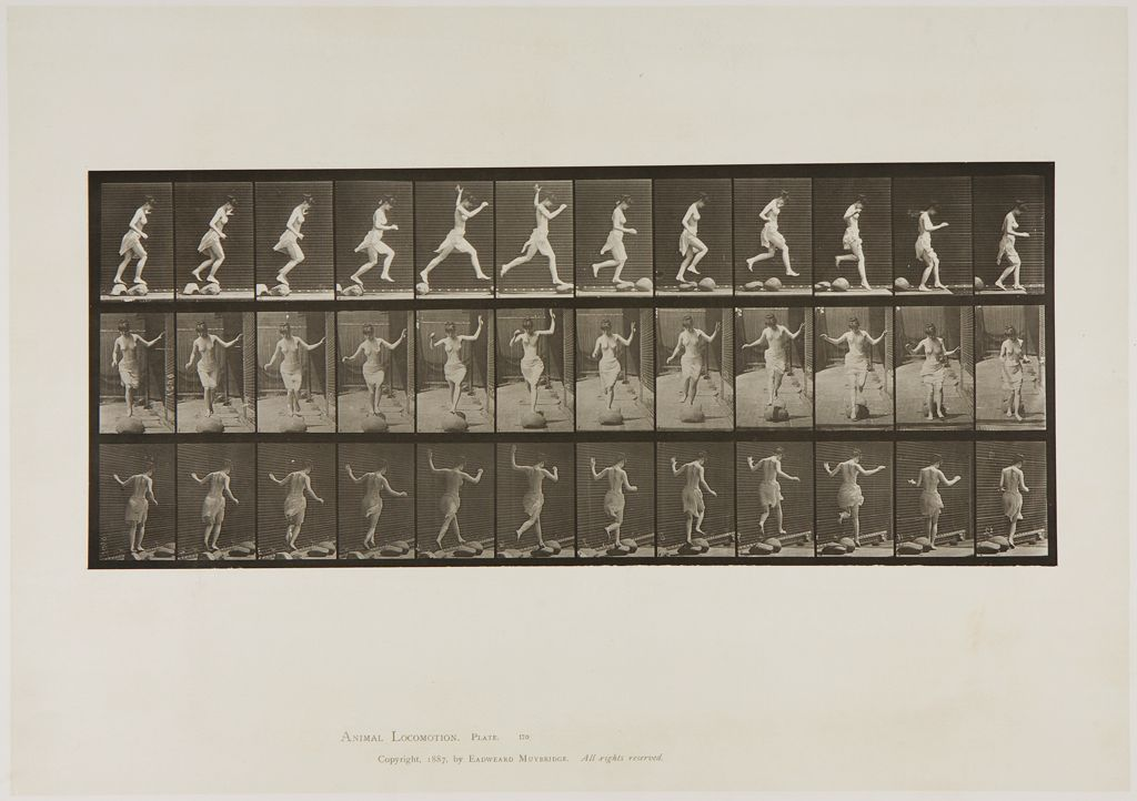 Untitled (Woman Leaping)