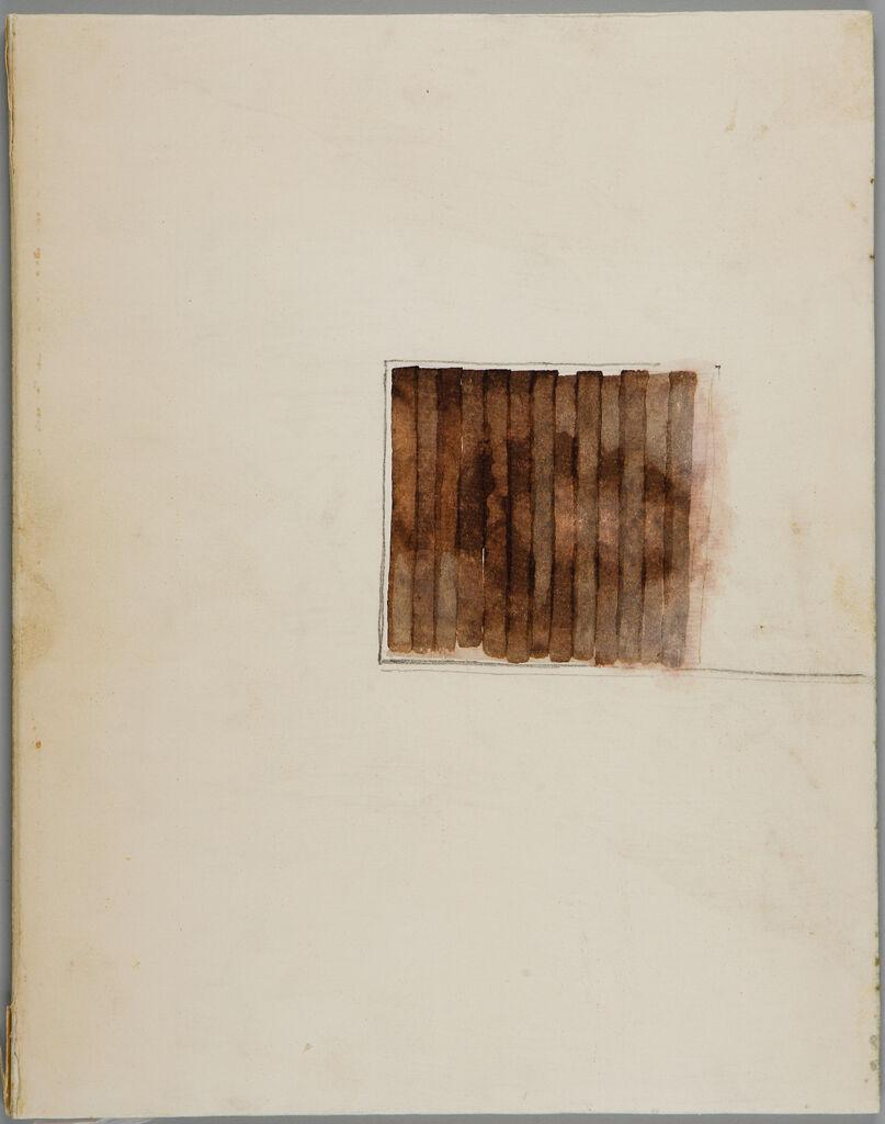 Bound Book, (W123.1-18), The Hunger Artist