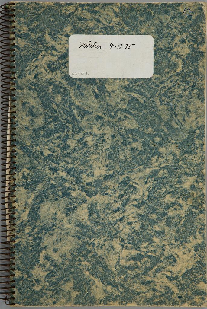 Sketchbook, (W345.1-21),