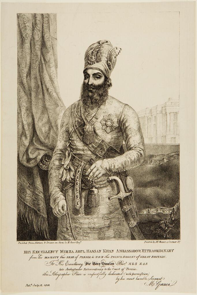 Mirza Abul Hassan Khan