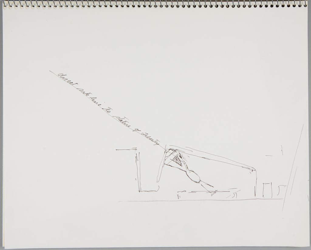 Sketch Related To Mariners' Memorial Project