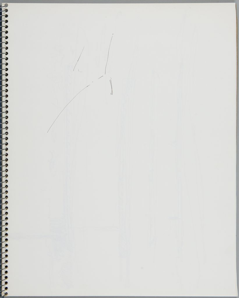 Sketch; Verso: Blank