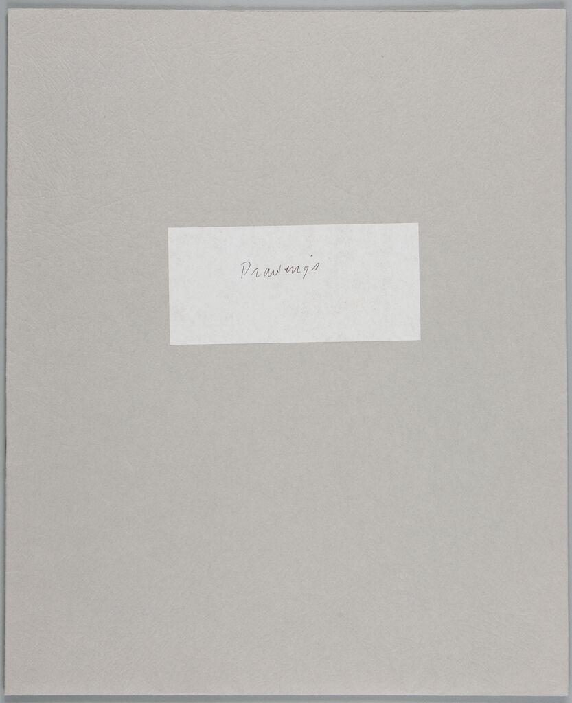 Sketchbook, (W355.1-14),