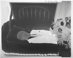 Untitled (Deceased Man In Coffin, Close Up)
