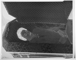 Untitled (Deceased Woman In Open Casket)
