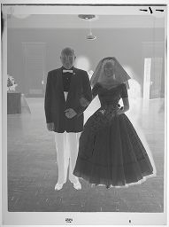 Untitled (Bride Standing With Older Man)