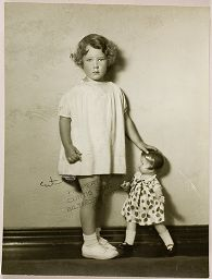 Untitled (Proof Print: Young Girl With Doll)