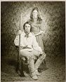 Untitled (Man And Woman Posed In Studio In Western Wear)