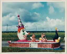 Untitled (Lockhart Parade, Clown And Seal Float)