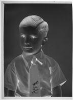 Untitled (studio portrait of small boy wearing tie)