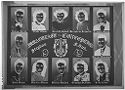 Untitled (High School Class Poster With Photographs Of Twelve Students)