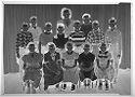 Untitled (Group Portrait Of Schoolchildren Posed With Teacher)
