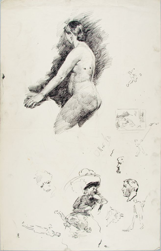 Sketches Of Women And Men