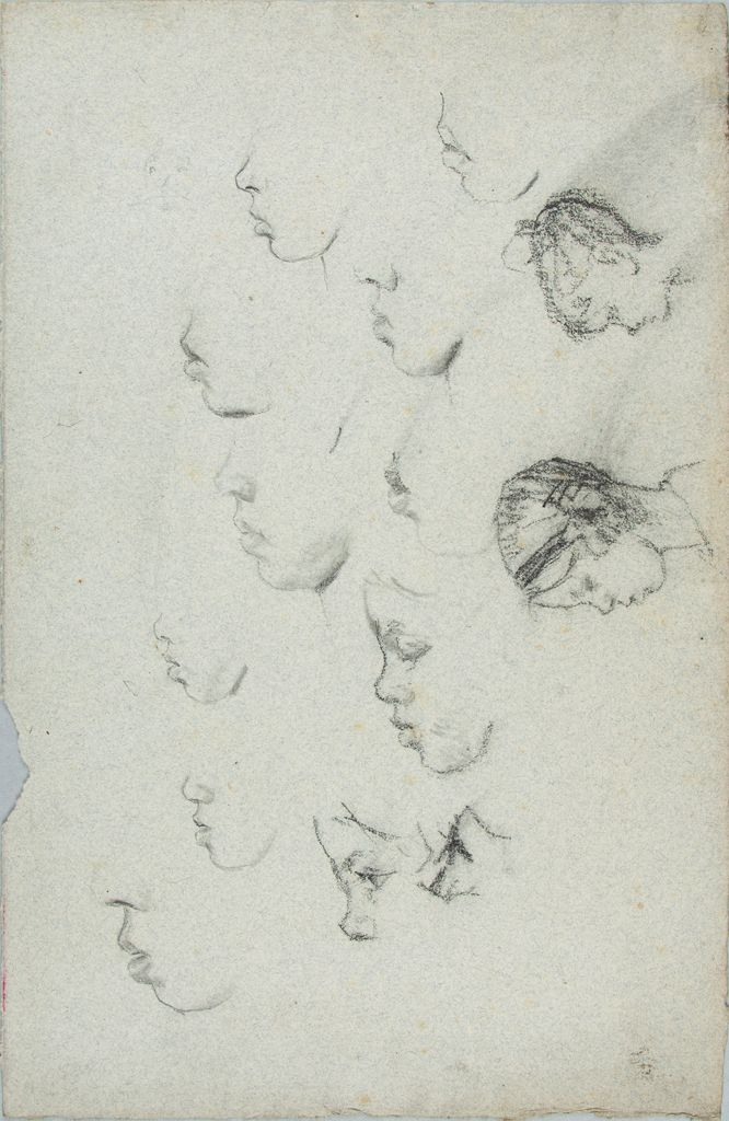 Sketches Of A Girl's Head