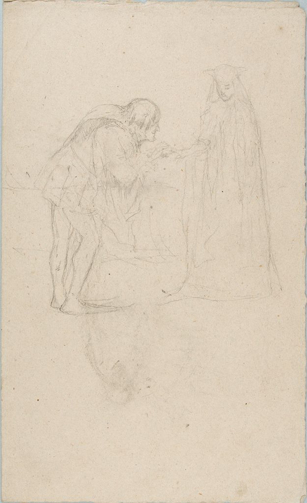 Sketch Of A Man And A Woman