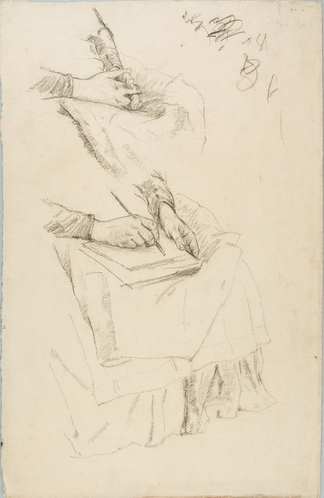 Sketches Of A Woman's Hands