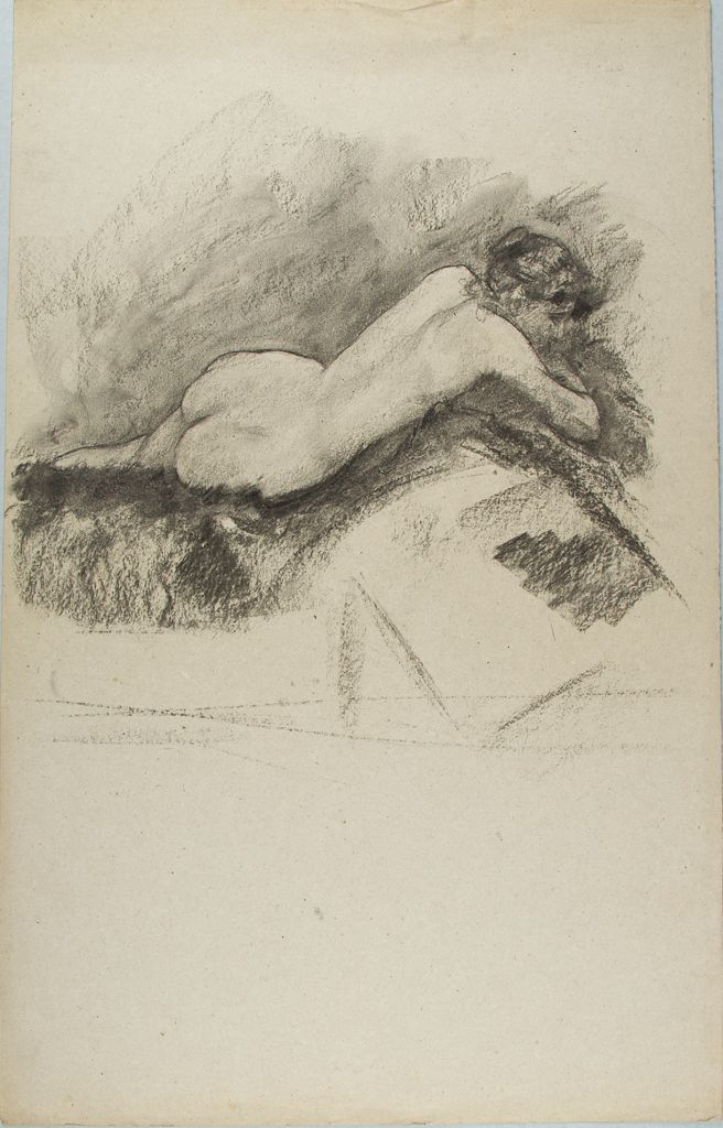 Female Nude Figure Study
