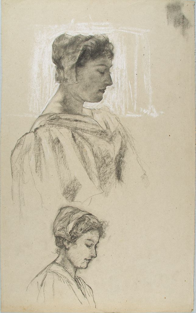 Sketches Of A Women`s Head