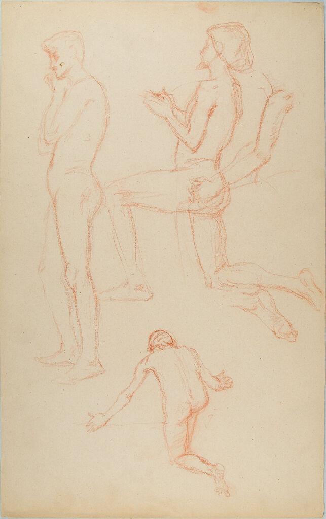 Male Nude Figure Studies
