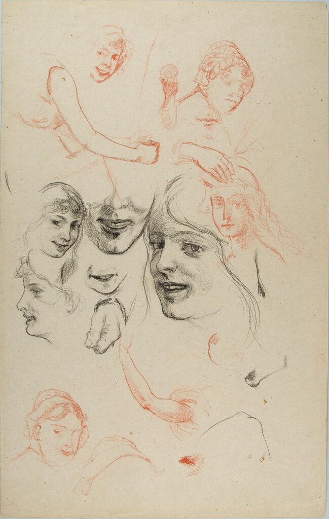 Studies Of A Girl